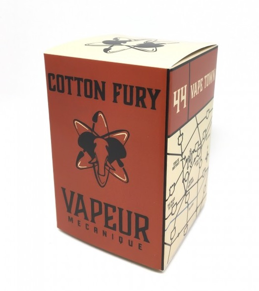 Cotton Fury Limited Edition - celé balení