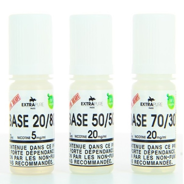 10 ml Extrapure Booster 50PG/50VG 20 mg/ml
