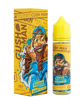 50 ml Nasty Juice - Mango Banana (Short Fill) 0 mg/ml