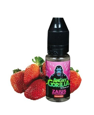 10 ml Angry Gorilla - Zaius Strawberry