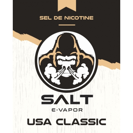10 ml Salt E-Vapor - USA Classic 20 mg/ml