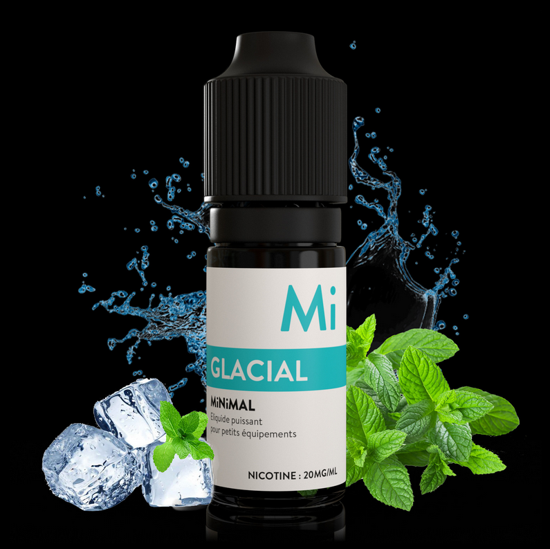 10 ml The Fuu Minimal Nic. Salts - Glacial 20 mg/ml