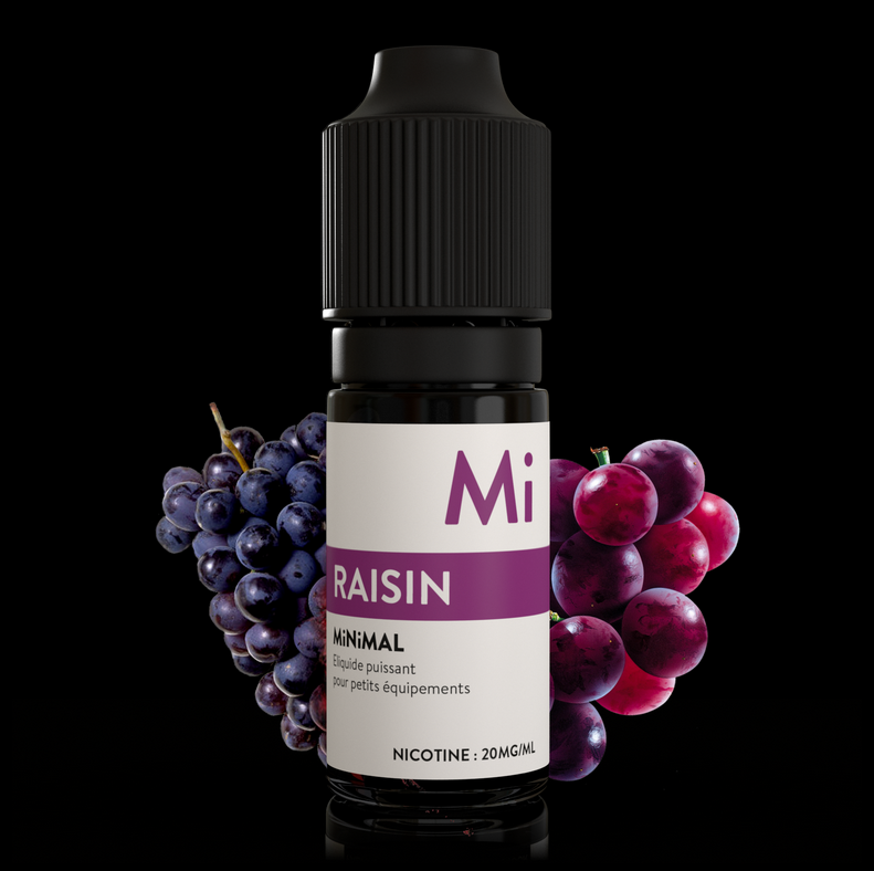 10 ml The Fuu Minimal Nic. Salts - Raisin 20 mg/ml