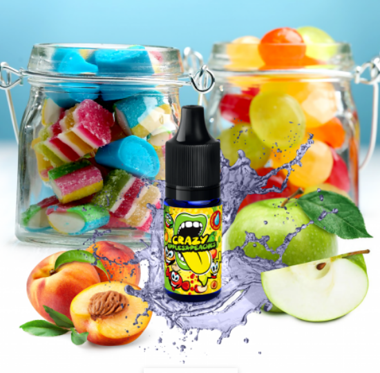 10 ml Big Mouth Crazy Apples and Peaches