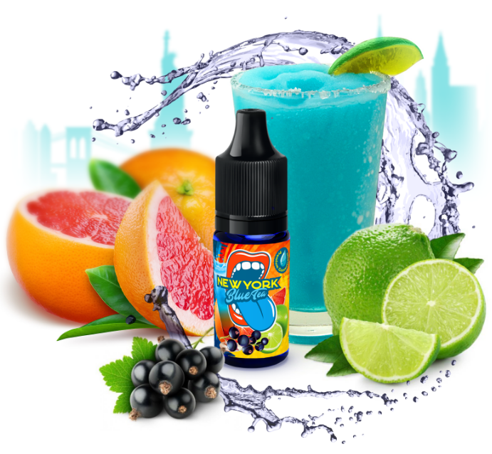 10 ml Big Mouth New York Blue tea