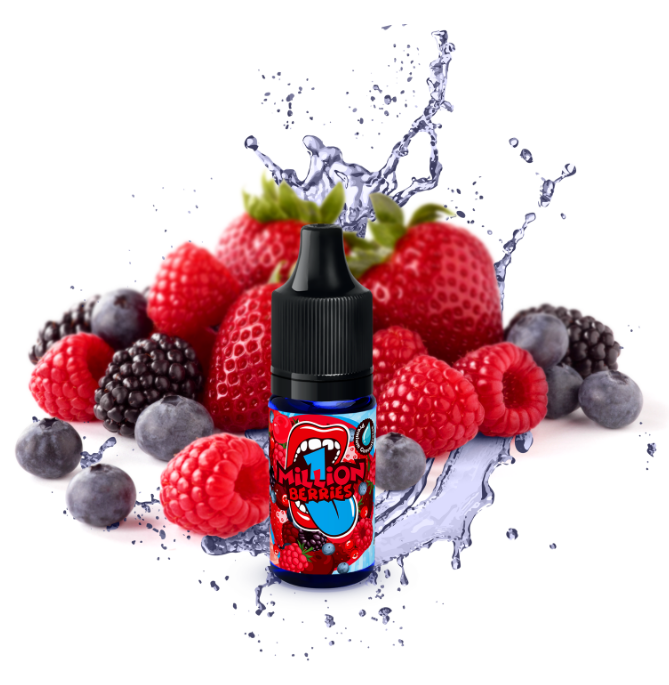 10 ml Big Mouth 1 Million Berries