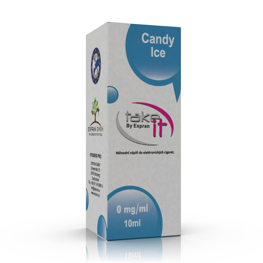 10 ml Take It - Candy Ice 6 mg/ml
