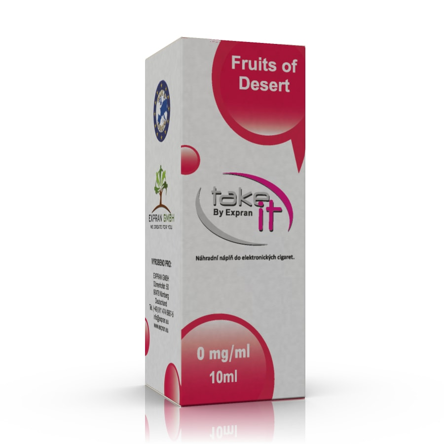 10 ml Take It - Fruits of Desert 6 mg/ml