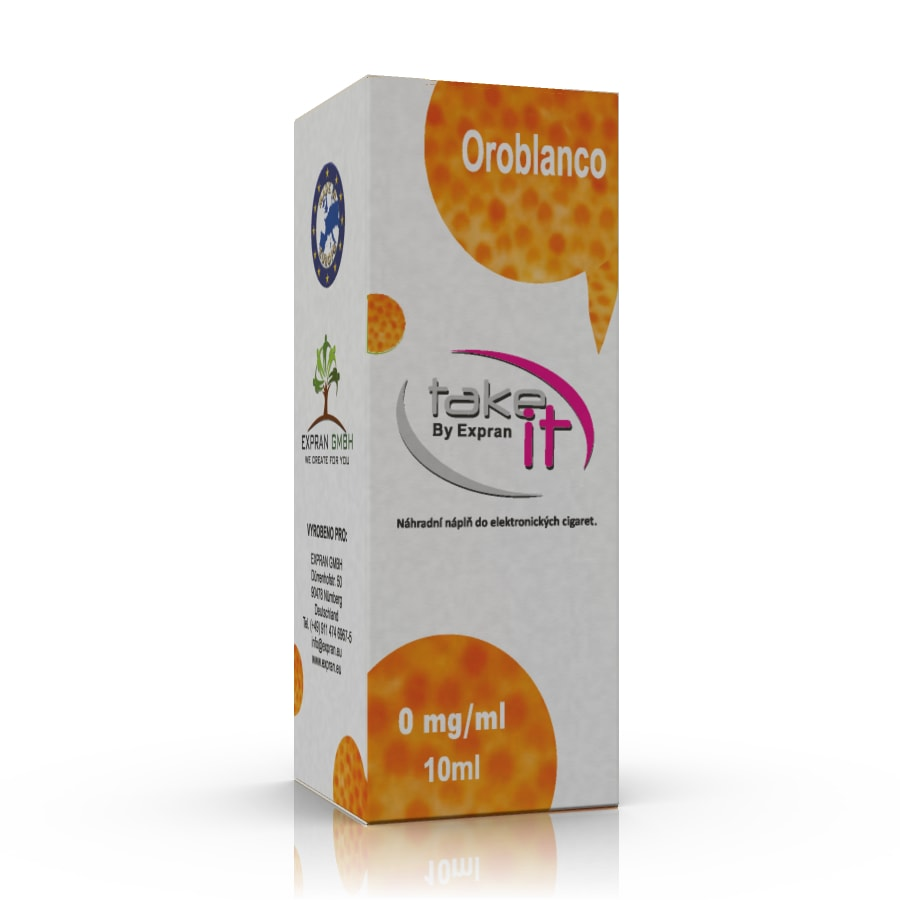 10 ml Take It - Oroblanco 6 mg/ml