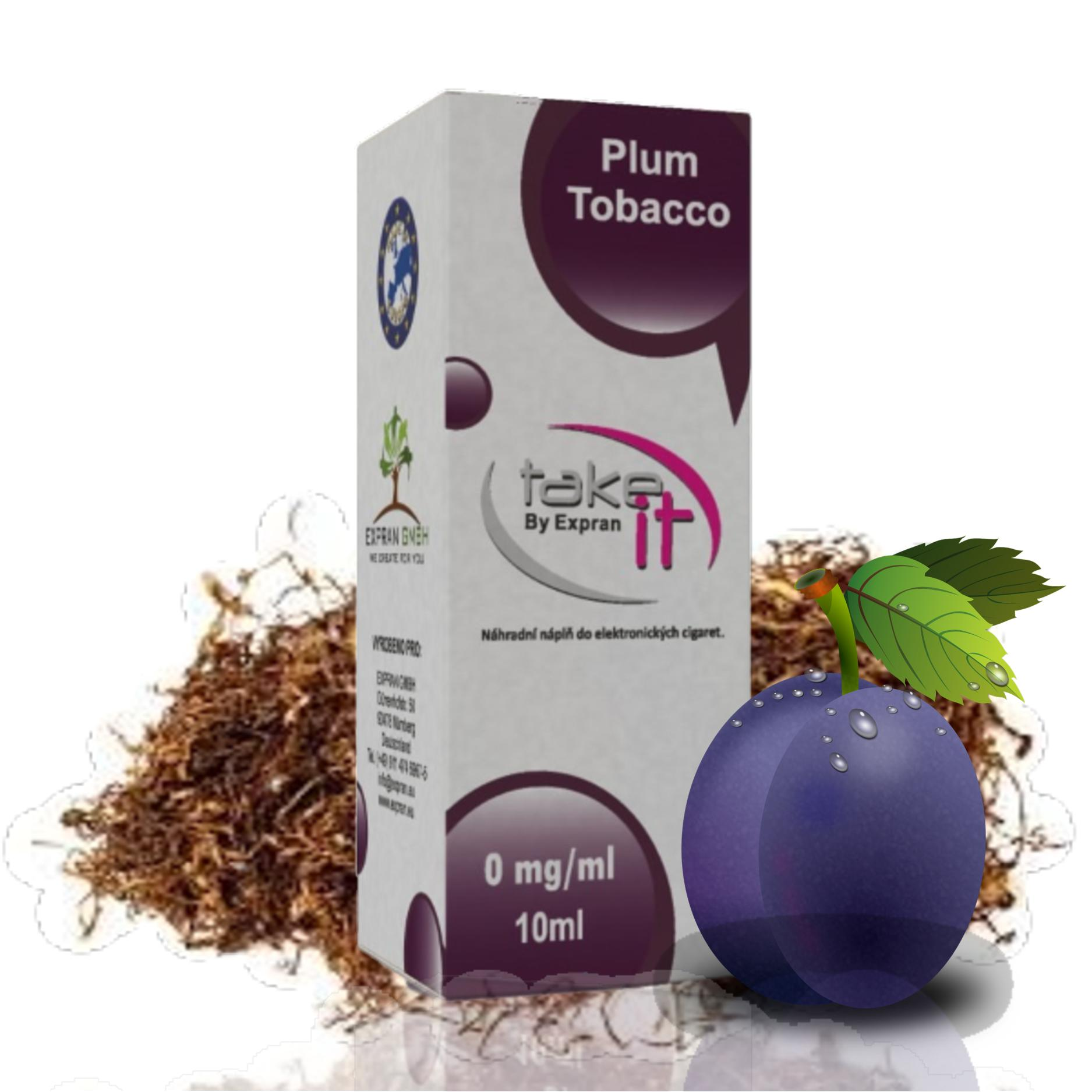 10 ml Take It - Plum Tobacco 12 mg/ml