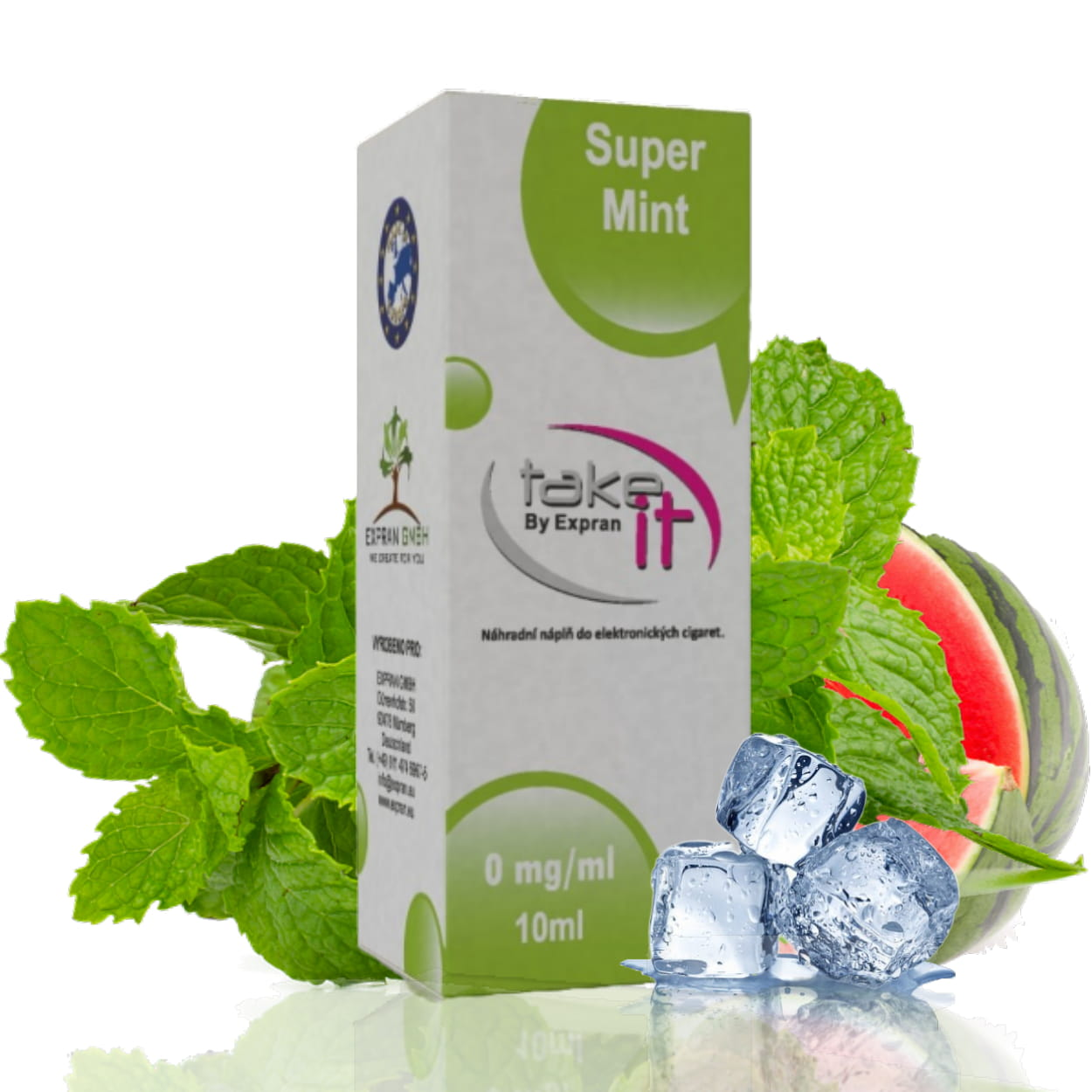 10 ml Take It - Super Mint 6 mg/ml