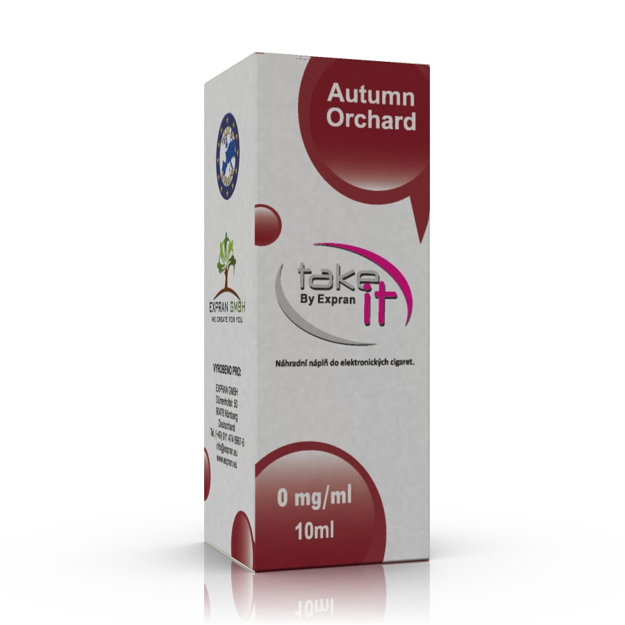 10 ml Take It - Autumn Orchard 0 mg/ml