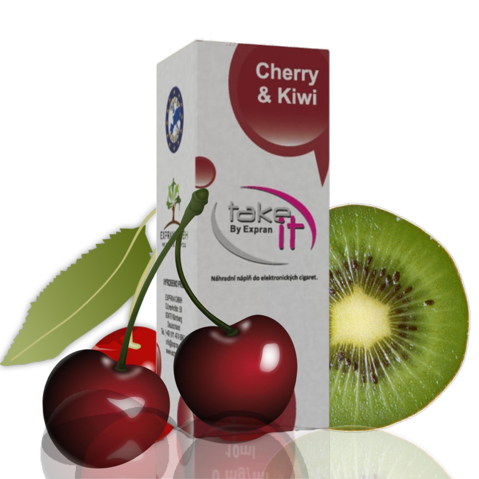 10 ml Take It - Cherry & Kiwi 0 mg/ml