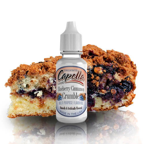 13 ml Capella Blueberry Cinnamon Crumble