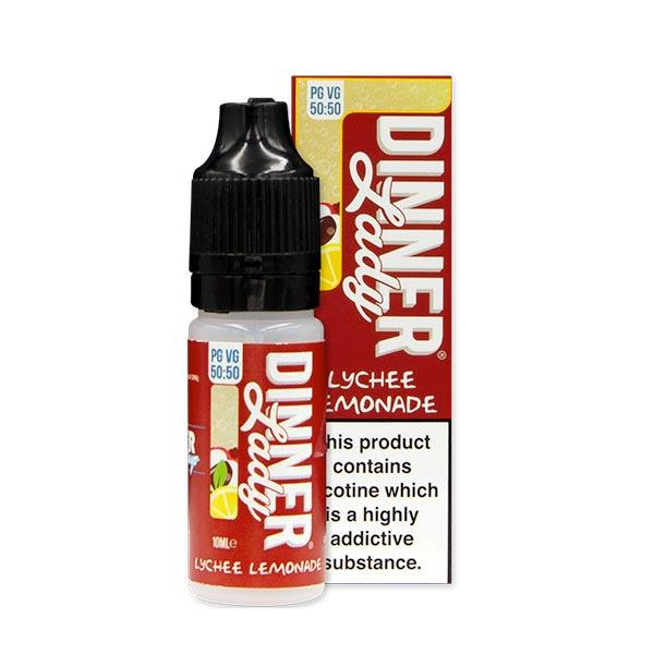 10 ml Dinner Lady 50PG/50VG - Lychee Lemonade 6 mg/ml