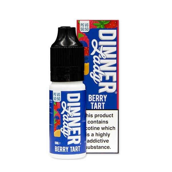 10 ml Dinner Lady 50PG/50VG - Berry Tart 6 mg/ml