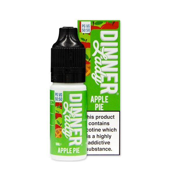 10 ml Dinner Lady 50PG/50VG - Apple Pie 6 mg/ml