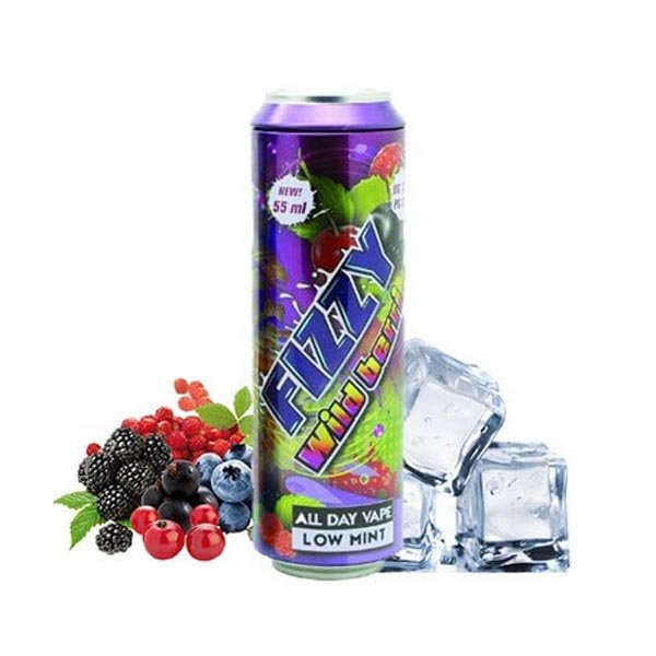 55 ml Mohawk & Co - Fizzy Wildberries (Shake & Vape)