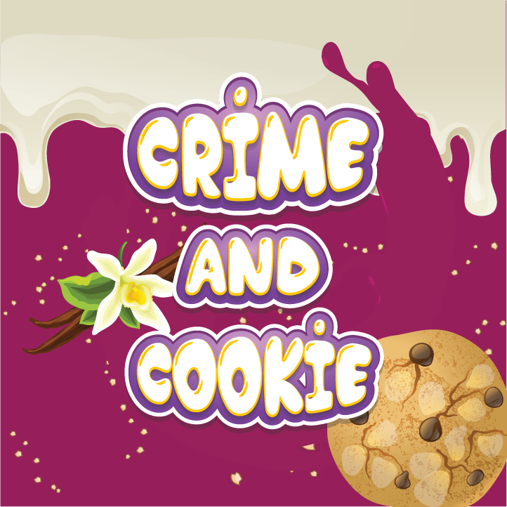 10 ml Guerrilla Flavors - Crime and Cookie (Shake & Vape)