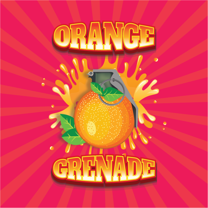 10 ml Guerrilla Flavors - Orange Grenade (Shake & Vape)