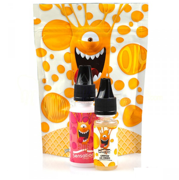 10 ml Sensation - Orange Ice Cream