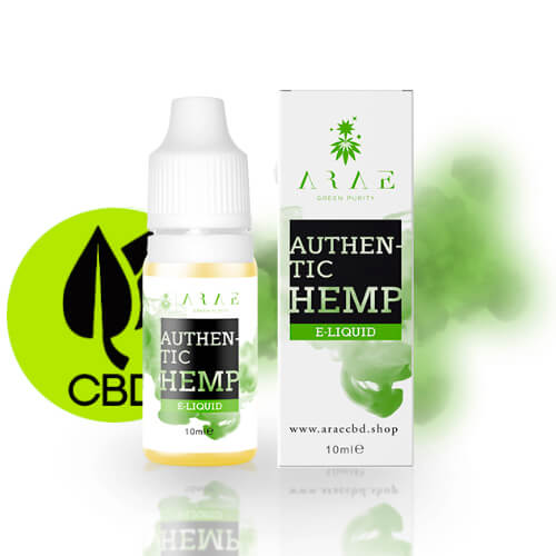 10 ml CBD Arae Green Purity - Authentic Hemp 100mg