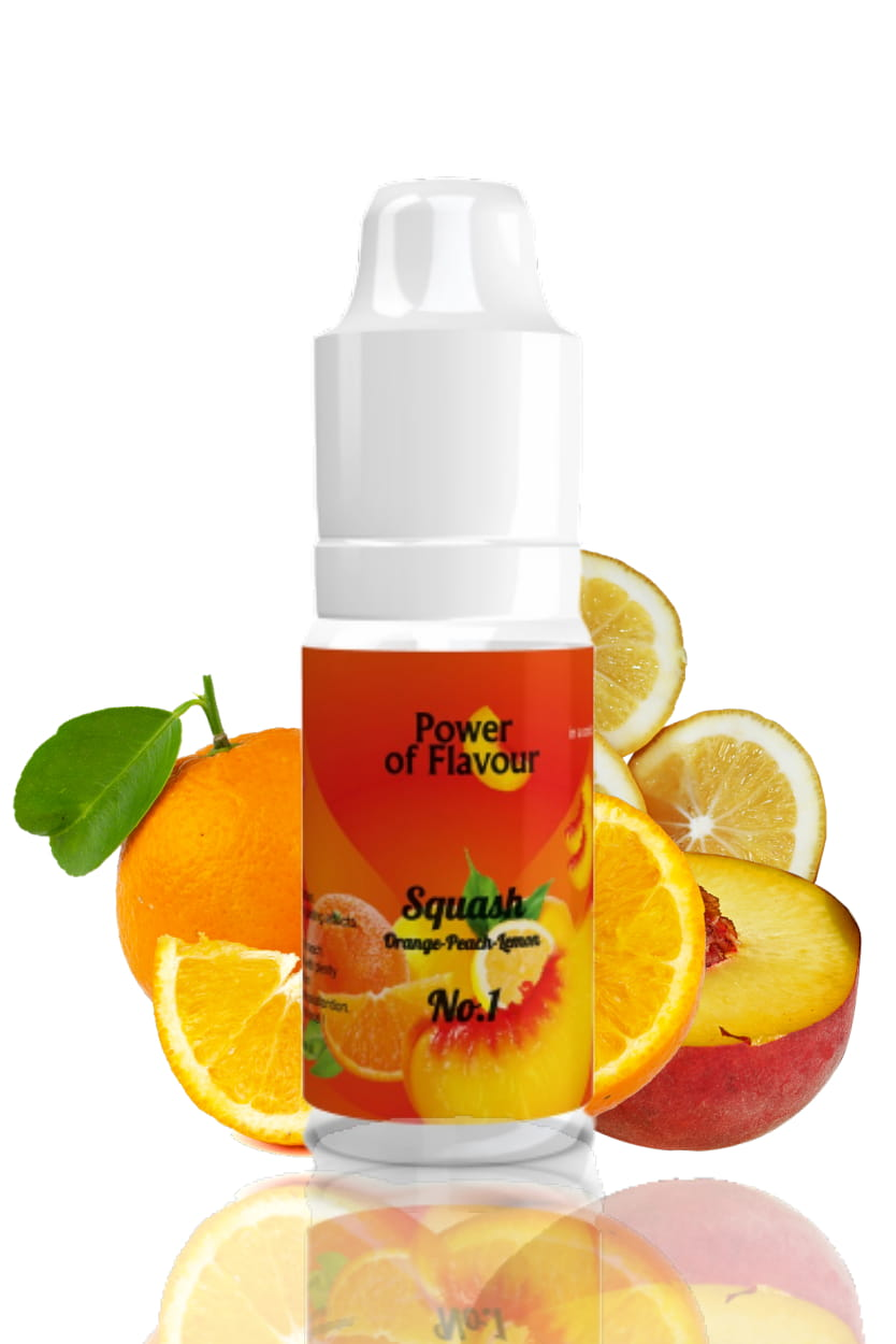 10 ml Power of Flavour - No. 1 (Pomeranč, broskev, citron)