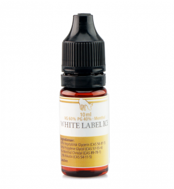 10 ml Pink Mule VPG White Label Ice Menhtol 20 mg/ml