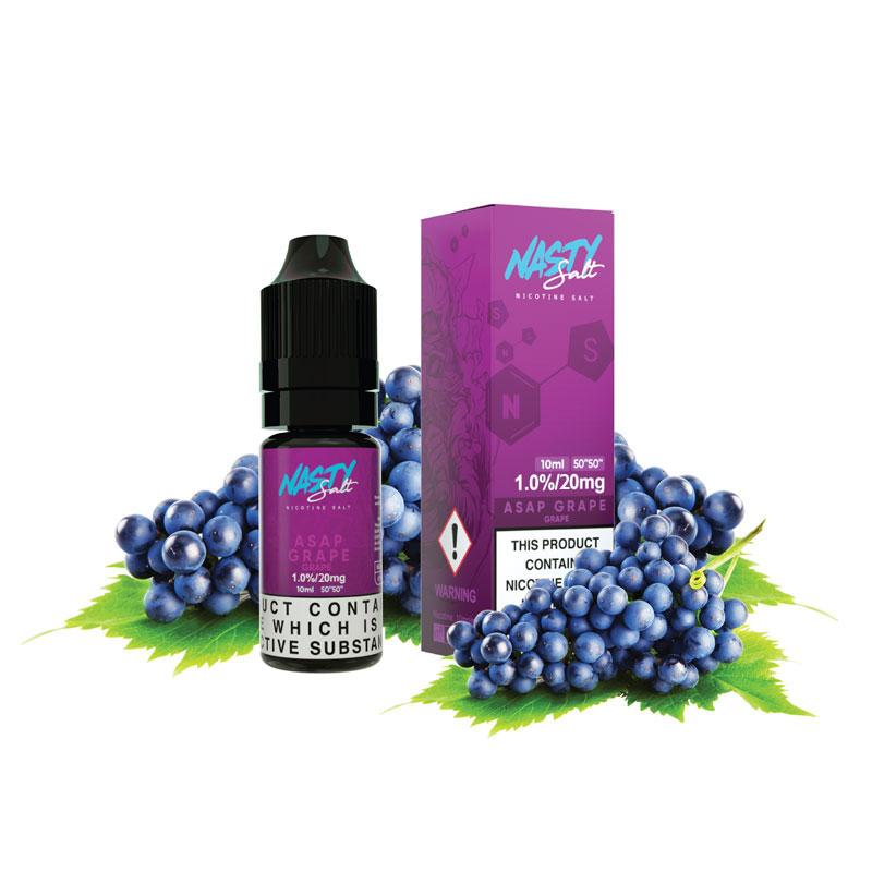 10 ml Nasty Salt - Asap Grape 20 mg/ml