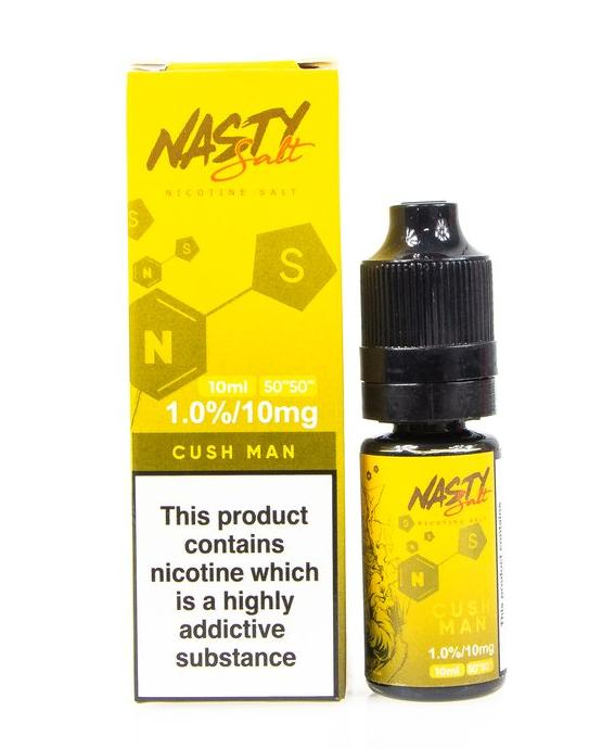10 ml Nasty Salt - Cush Man Mango 20 mg/ml
