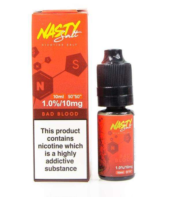 10 ml Nasty Salt - Bad Blood 20 mg/ml