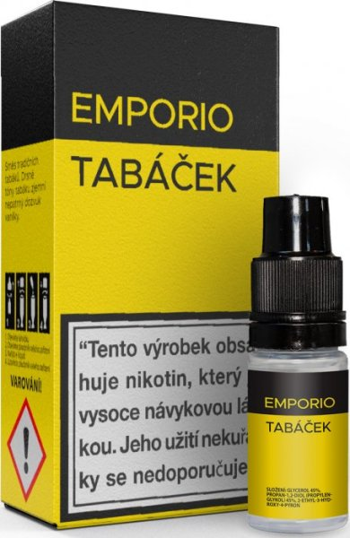 10 ml Emporio - Tabáček 18 mg/ml