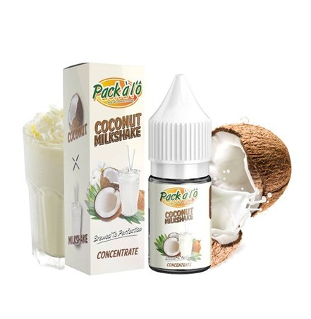 10 ml Pack a lO -  Coconut Milkshake