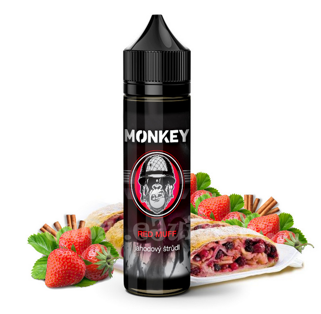 7,8 ml Monkey Liquid - Red Muff (Shake & Vape)