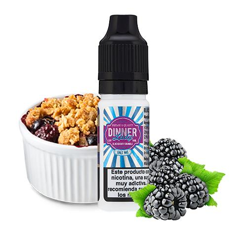 10 ml Dinner Lady Nic. Salts - Blackberry Crumble 20 mg/ml