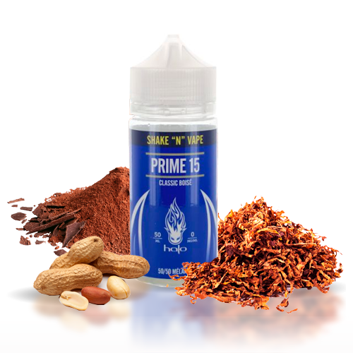 50 ml Halo - Prime 15 (Short Fill) 0 mg/ml