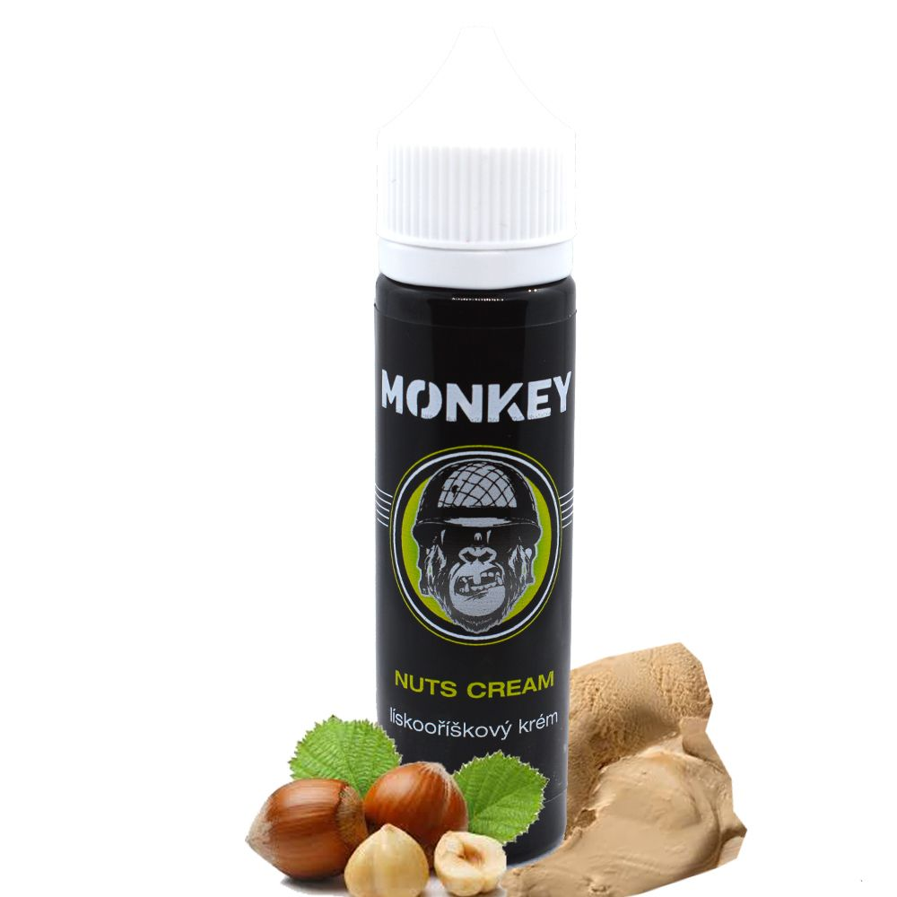 12 ml Monkey Liquid - Nuts Cream (Shake & Vape)