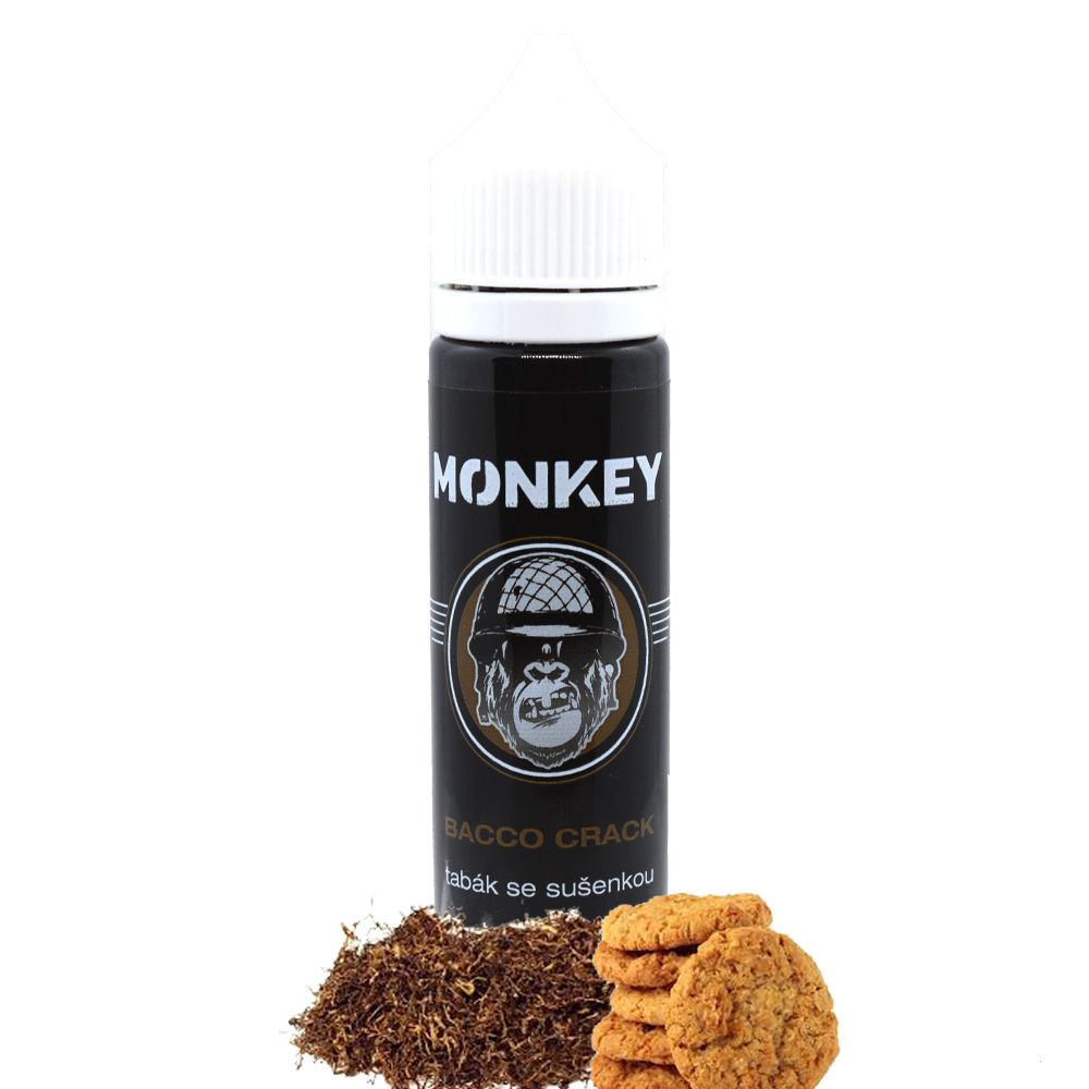 12 ml Monkey Liquid - Bacco Crack (Shake & Vape)
