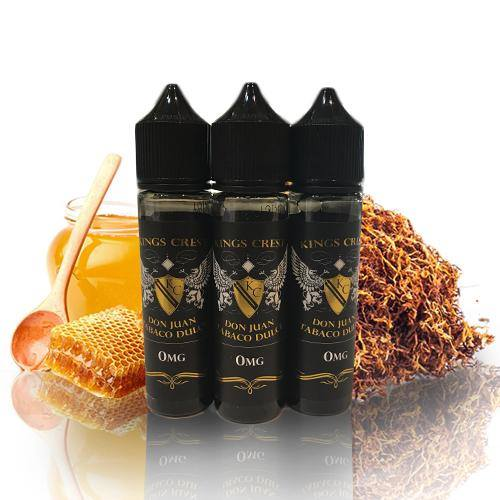 50 ml Kings Crest - Don Juan Tabaco Dulce (Shake & Vape)