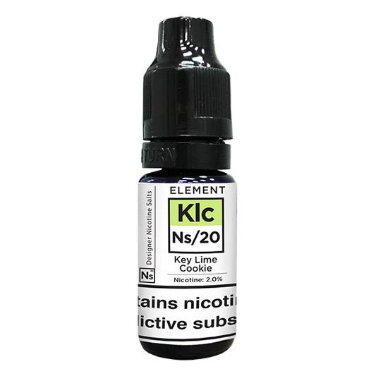 10 ml Element Nic. Salts - Key Lime Cookie 20 mg/ml