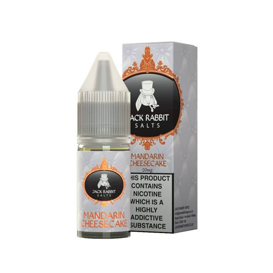 10 ml Jack Rabbit Salts - Mandarin Cheesecake 20 mg/ml