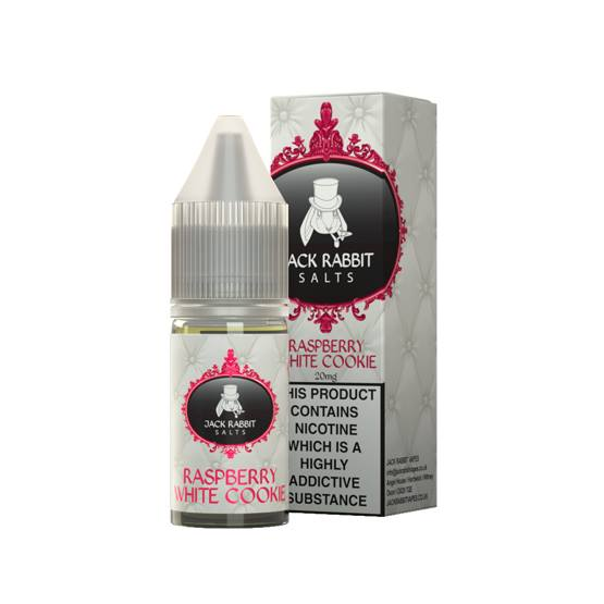 10 ml Jack Rabbit Salts - White Raspberry Cookie 20 mg/ml