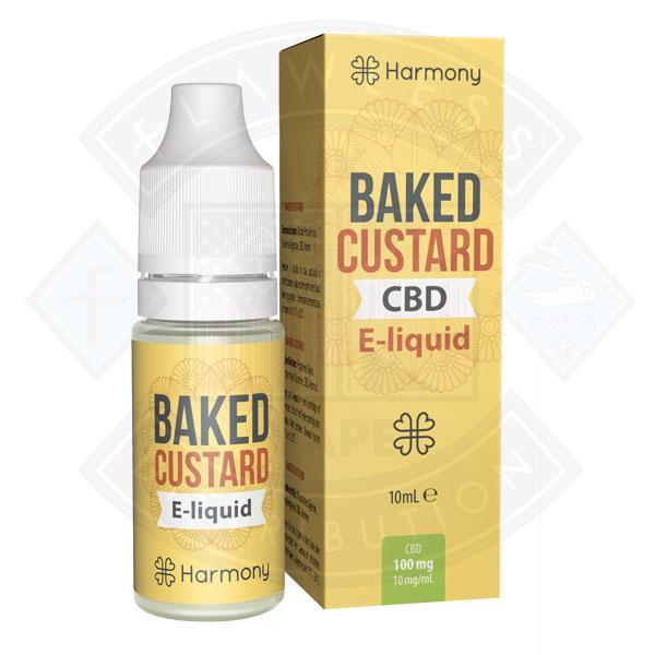 10 ml Harmony CBD - Baked Custard 100mg