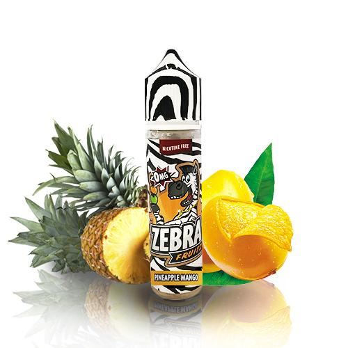 50 ml Zebra Juice Fruitz - Pineapple Mango (Shake & Vape)