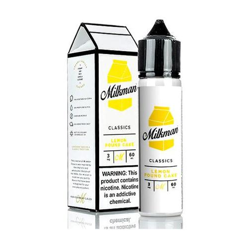 50 ml The Milkman - Lemon Pound Cake (Shake & Vape)