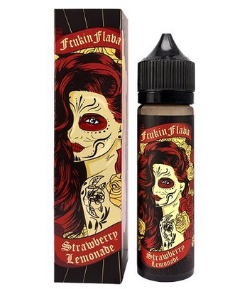 50 ml Fcukin Flava - Strawberry Lemonade (Shake & Vape)