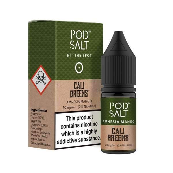 10 ml Pod Salt - Amnesia Mango 20 mg/ml