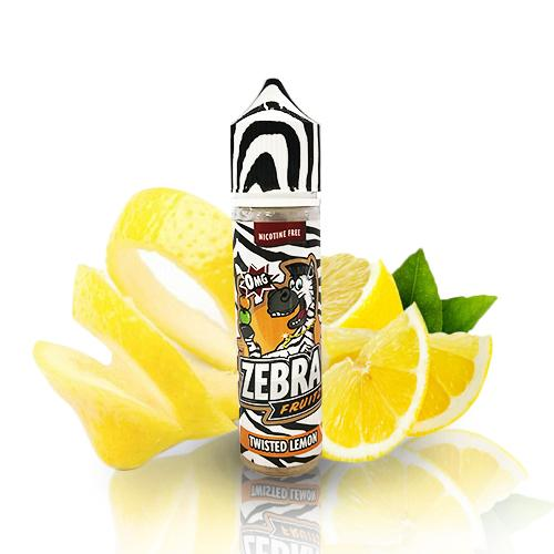 50 ml Zebra Juice Fruitz - Twisted Lemon (Shake & Vape)