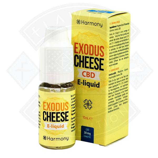 10 ml Harmony CBD - Exodus Cheese 100mg