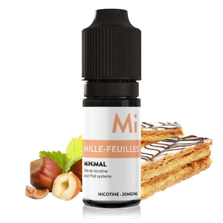 10 ml The Fuu Minimal Nic. Salts - Mille feuilles 20 mg/ml